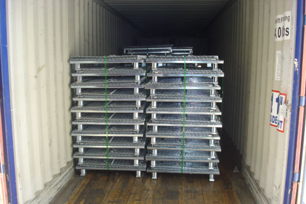 Truckload of Wire Baskets